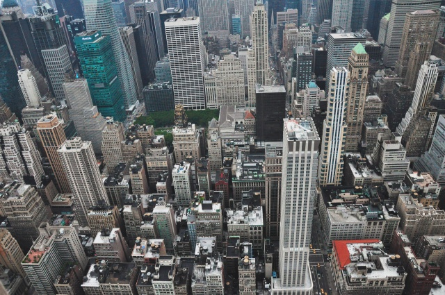 New York City - Birds Eye View